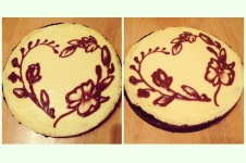 Hand-drawn Cheesecake