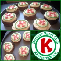 Kickers Soccer Team Cupcakes -Carrot & Chocolate