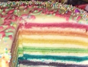 Rainbow Cake's Layers