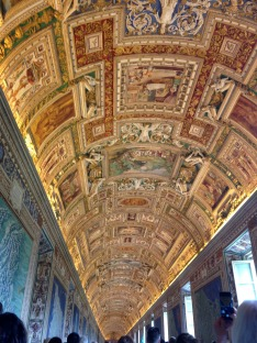 Phenomenal displays of art throughout the Vatican